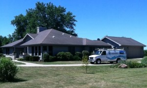 Midwest roof soft washing services
