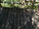 before deck restoration
