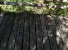 dirty back deck