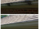 midwest roof cleaning before after 2